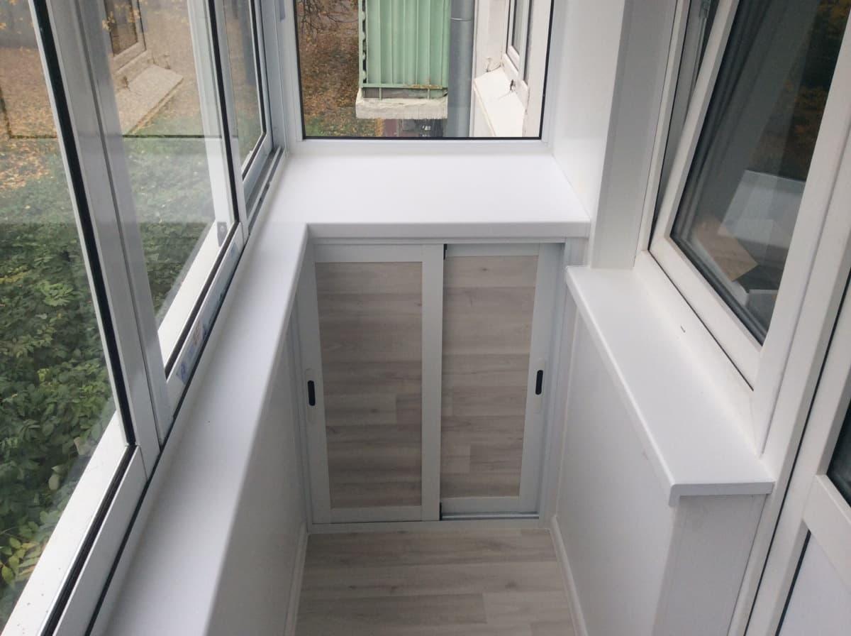подоконники на балкон