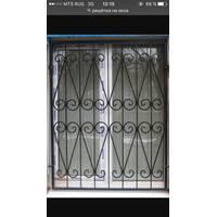Кованые решетки на ворота и двери