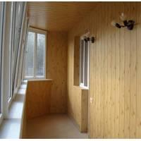 Обшивка балкона вагонкой 6 метров