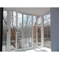 Окна для балкона раздвижные алюминиевые
