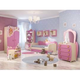 Комплект мебели для детской комнаты Принцесса