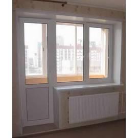 Балконный выход KBE Gut с открывающимся окном