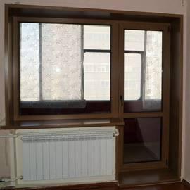 Балконный выход KBE Gut с ламинацией