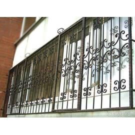 Кованые балконные решетки