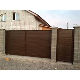 Откатные ворота (4250*2100)