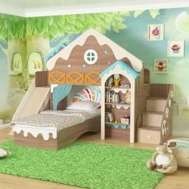 """Комплект мебели для детской комнаты """"Домик"""""""