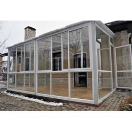 Алюминиевые раздвижные окна для террасы