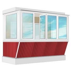 Остекления Балкона в хрущевском  доме