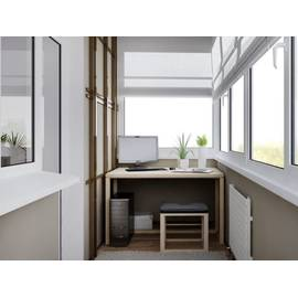 Пластиковые окна для балкона