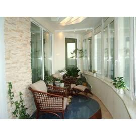 Окна для остекления Эркерного балкона