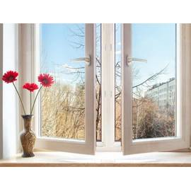 Двустворчатое окно KBE Gut
