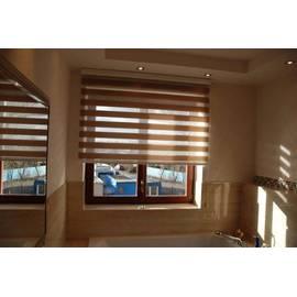 Двустворчатое окно KBE Expert с ламинацией