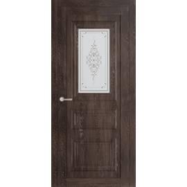 Дверь межкомнатная ДС Манхэттен 1 стекло