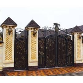 Ворота кованые заказать в Казани